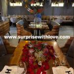 Decoraciones para cenas románticas